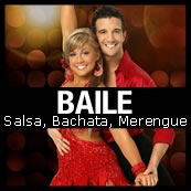 flyer baile bachata salsa merengue