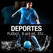 flyer deportes futbol basketball, golf