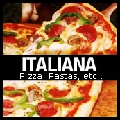 flyer italiana pizza pastas