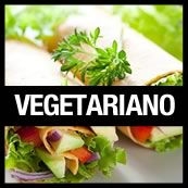 flyer vegetariano