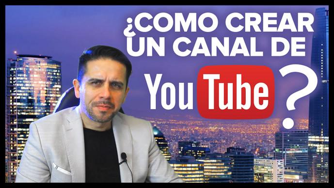 Cómo crear un canal de YouTube?